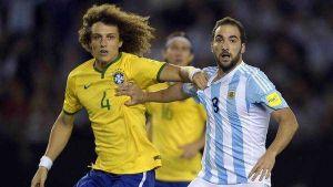 argentina no supo liquidar a brasil y sigue sin ganar