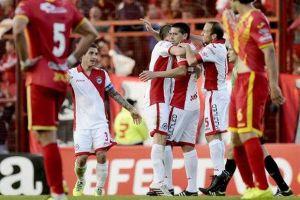 Foto Riquelme debut con Argentinos 2