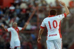 Foto Riquelme debut con Argentinos 8