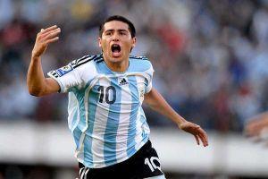 asistencias, goles y regates de riquelme con argentina