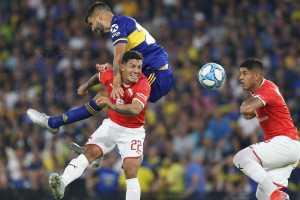 Boca empata con Independiente en Superliga
