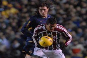 Foto Juan Roman Riquelme Boca Fue Mas Pero El Fluminense Se Encontro Con La Ayuda De Migliore