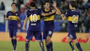 Foto Juan Roman Riquelme Boca Goleo A Arsenal