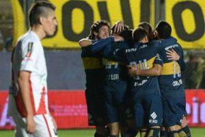 boca gole� a guaran� antonio franco por 4-0 y avanza en la copa argentina