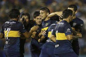 Foto Juan Roman Riquelme Boca Hace Pleno Victorias En Inicio Primera Division