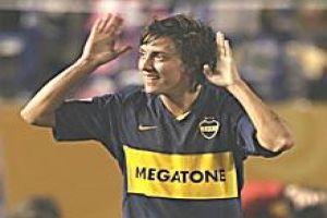 Foto Juan Roman Riquelme Boca Juniors Espera Al Milan