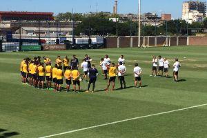 Foto Juan Roman Riquelme Boca Juniors Se Entreno De Cara Debut Copa Libertadores
