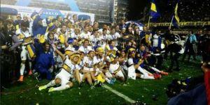 Foto Juan Roman Riquelme Boca Juniors Vencio Tigre Es Nuevo Campeon Futbol Argentino