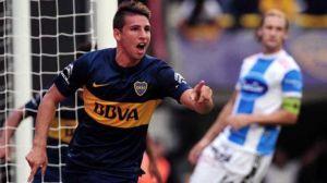 Foto Juan Roman Riquelme Boca Juniors Visita Colon De Santa Fe