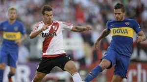 Foto Juan Roman Riquelme Boca Juniors Vs River Plate Clasico Argentino La Bombonera