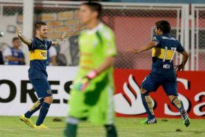 Foto Juan Roman Riquelme Boca Juniors Y Tigre Van A Octavos Copa Libertadores
