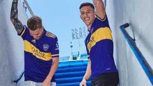 Boca presentó sus nuevas camisetas en las redes sociales