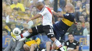 Foto Juan Roman Riquelme Boca Y River Empate Sin Futbol