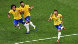 Foto Juan Roman Riquelme Brasil Gano A Croacia Con Ayuda En Inicio Mundial
