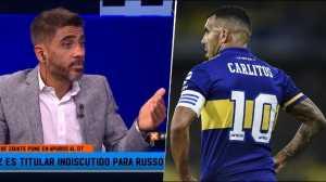 Bulos le apuntó a Tevez: No juega bien hace rato