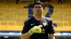 Carlos Lampe se despidió de Boca Juniors