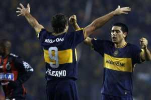Cinco momentos calientes de la pelea Riquelme-Palermo