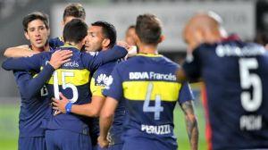 con un golazo de pérez, boca le ganó por 2-0 el amistoso a san lorenzo