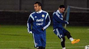 Foto Juan Roman Riquelme Con Messi Y Tevez Argentina Ya Trabaja En Estados Unidos
