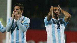 Foto Juan Roman Riquelme Copa America Por Que No Jugo Tevez La Final