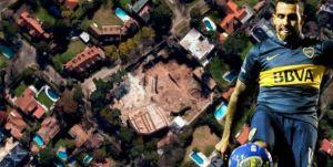 Foto Juan Roman Riquelme De Que Famoso Era Impresionante Mansion Que Tevez Compro