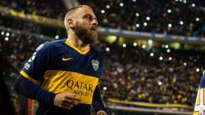 De Rossi quiere ser entrenador de <b>Boca Juniors</b>