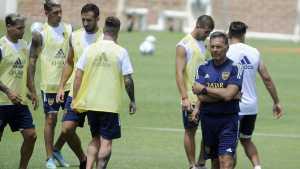 El equipo de Boca para enfrentar a Independiente