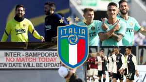 El fútbol italiano podría jugarse sin público por el coronavirus