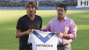 El palito del presidente de Vélez a Boca