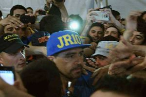 Foto Juan Roman Riquelme Elecciones Boca A Quien Voto Riquelme