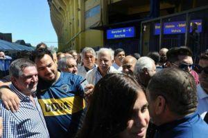 Foto Juan Roman Riquelme Elecciones Boca Ya Votaron Los Tres Candidatos A Presidente