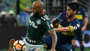 <b>Felipe Melo</b> contó cómo se hizo hincha de Boca Juniors