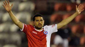 Riquelme fue citado para jugar ante Gimnasia en Jujuy