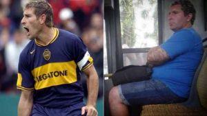 Foto Juan Roman Riquelme Furor De Los Futbolistas Parecidos En Medios Transporte
