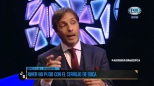 Gustavo López, ácido con De Rossi