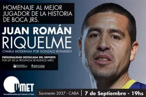 homenaje a juan román riquelme en la umet