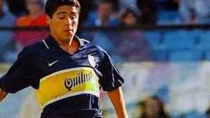 Foto Juan Roman Riquelme Homenaje Riquelme Todos Sus Goles Con Boca Juniors