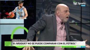 Horacio Pagani, el básquet y los valores en el deporte