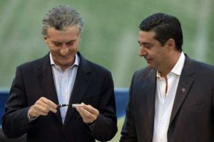 Foto Juan Roman Riquelme Importante Reunion Para Tratar Temas Cumbres