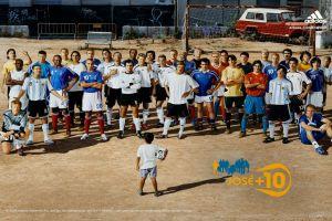 kaká y el spot que juntó a zidane, riquelme, beckham y otros cracks