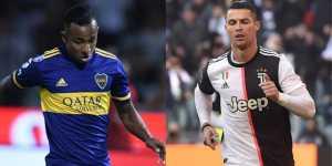 La comparación entre la velocidad de Villa y Cristiano