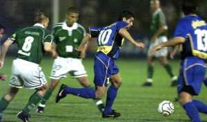 La inolvidable noche de Riquelme ante Palmeiras