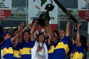 La primera Copa Libertadores de Bianchi en Boca