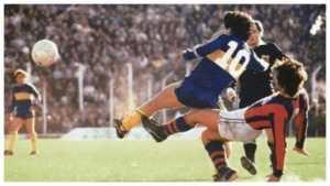 ¡Locura en una subasta por una camiseta que usó Maradona en Boca en 1981!