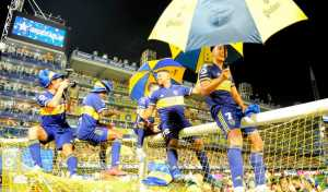 Los jugadores de Boca saludaron a la Bombonera en su cumpleaños