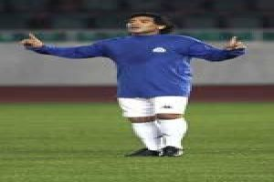 Foto Juan Roman Riquelme Maradona Dirigira La Seleccion