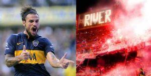 Foto Juan Roman Riquelme Maradona Y River Felicitan Boca Juniors