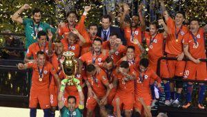 messi falla en los penales y chile es campeón de copa américa