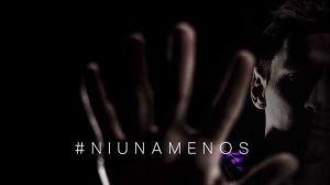 Foto Juan Roman Riquelme Messi Tinelli Dan Apoyo A Marcha Contra Violencia Genero
