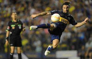 Foto Juan Roman Riquelme Osvaldo Debuto Con Gol Y Triunfo Xeneize